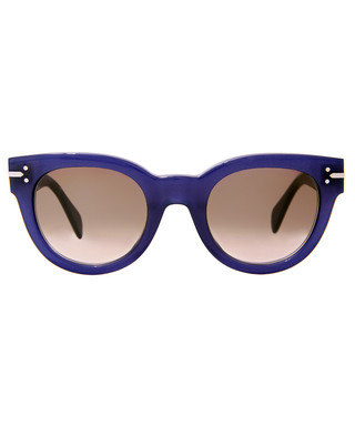 2f64873002f8 Céline. New Butterfly blue frame sunglasses