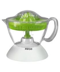 Image of Green & white citrus juicer
