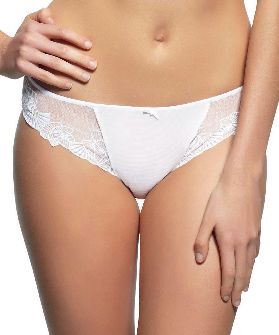 Loretta white briefs Sale - panache