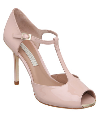 31c75597061 Patent nude cut-out leather heels Sale - Pied a Terre Sale