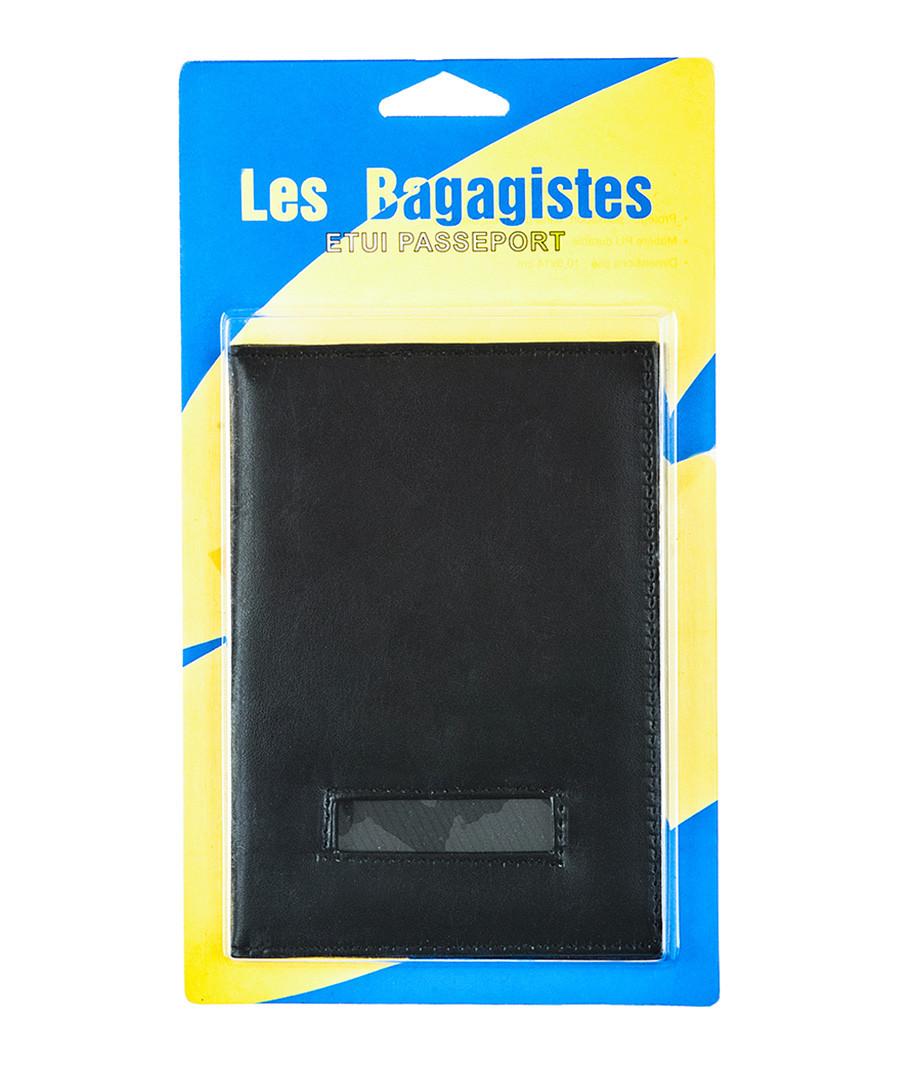 Black passport cover 23cm Sale - les bagagistes