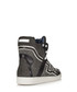 Men's grey & white high-top trainers Sale - dsquared Sale