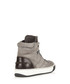 Grey suede hi-top sneakers Sale - lanvin Sale