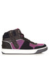 Navy & pink leather high-top trainers Sale - lanvin Sale