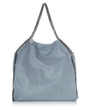 Falabella big powder blue tote bag Sale - Stella McCartney Sale afbfd5ebc