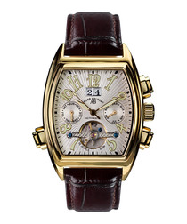 Royale Dare brown leather watch