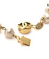 Gold-tone pearl logo necklace Sale - Chanel Sale