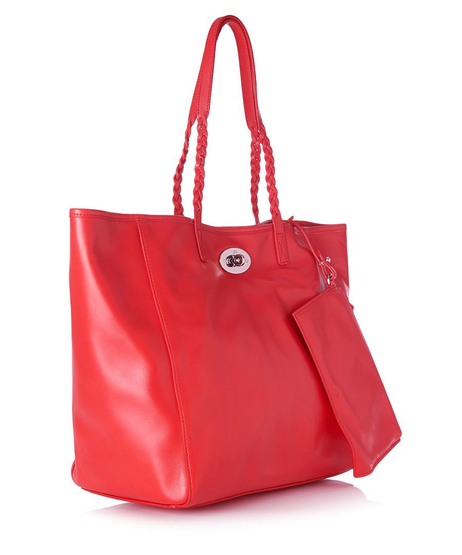 ... Dorset medium red leather tote bag Sale - Mulberry ... 6a9007a227b1e