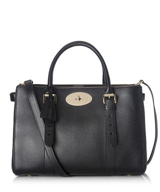 59f87552b746 Bayswater black double zip leather tote Sale - Mulberry Sale