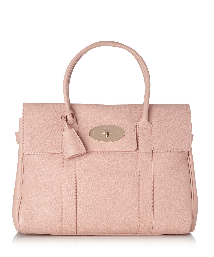 743c706136e9 Bayswater soft pink leather tote bag Sale - Mulberry