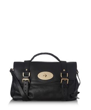 c14f0dd3a2b8 Alexa black leather satchel Sale - Mulberry Sale