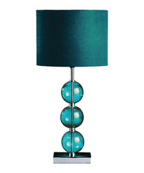 Image of Mistro teal table lamp