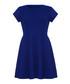 Blue short-sleeved skater dress Sale - ISKA Sale