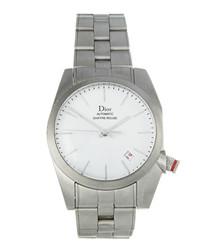 Stainless steel slim strap watch