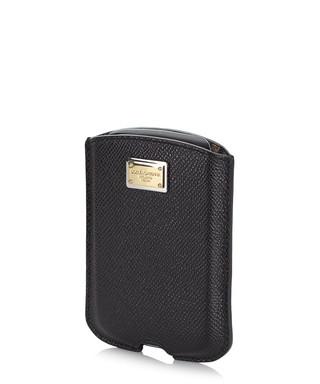 c95d7348ea Black leather BlackBerry case Sale - Dolce   Gabbana Sale