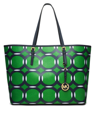 858740da0c82 Jet Set medium palm leather deco tote Sale - Michael Kors Sale