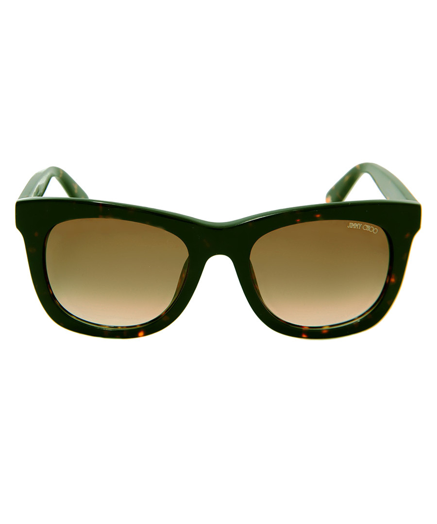 Sasha Havana D-frame sunglasses Sale - Jimmy Choo