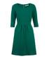 Green textured flare dress Sale - UTTAM BOUTIQUE Sale