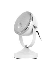 Image of White spotlight table lamp