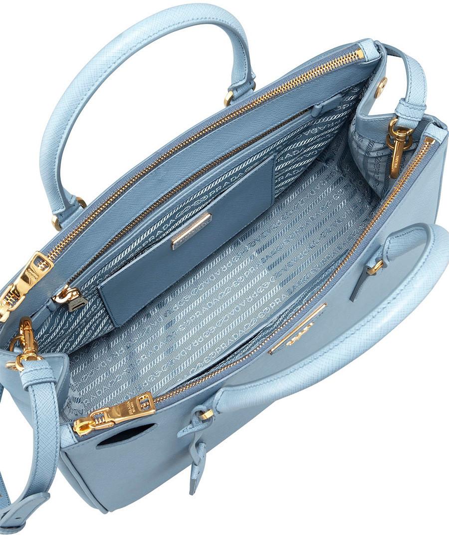 Coupon For Prada Sky Blue Bag 07059 1f677
