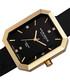Black leather & diamond dial watch Sale - Akribos XXIV Sale