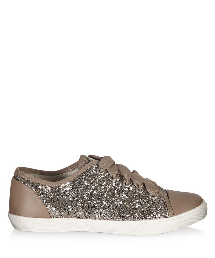 15d6ee77a6 Jasper gold glitter sneakers Sale - Carvela Kurt Geiger ...