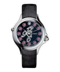 Crazy Carats pink & white diamond watch