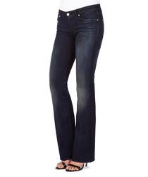 Kimmie dark blue cotton blend jeans