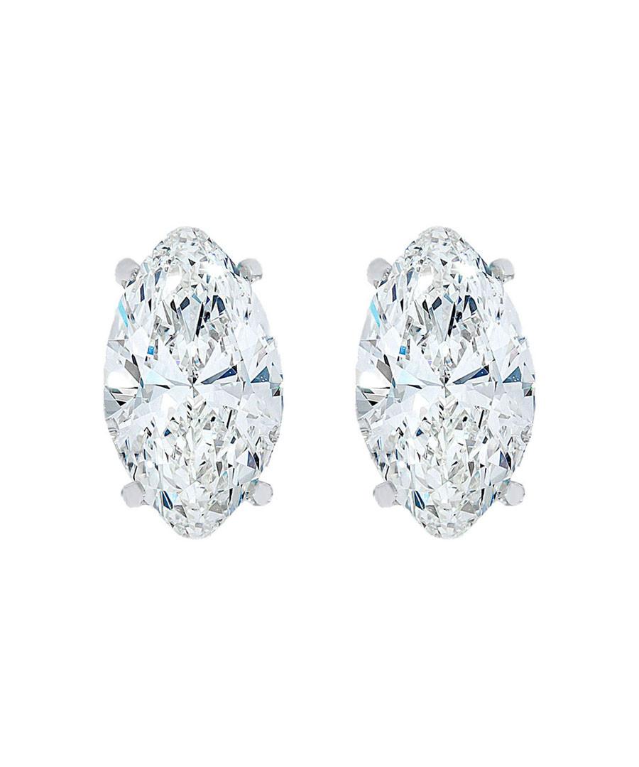 Marquise crystal stud earrings  Sale - diamond style