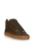 Green-brown high-top leather trainers Sale - balenciaga Sale