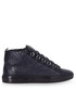 Navy high-top leather trainers Sale - balenciaga Sale