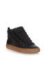 Black high-top leather trainers  Sale - balenciaga Sale