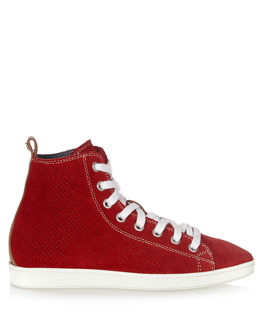 Red baseball trainers Sale - dsquared