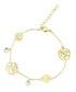 Gold-plated crystal flower bracelet  Sale - orcea Sale
