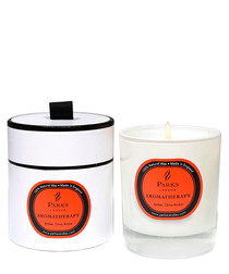 Amber Citrus aromatherapy wax candle