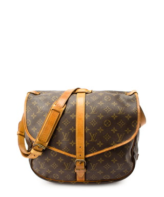 45f590bcbfc0 Saumur GM brown monogram cross body bag Sale - Vintage Louis Vuitton Sale