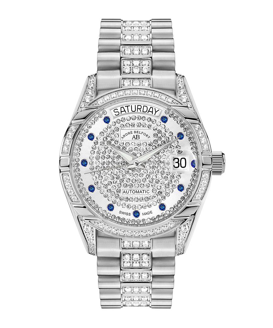 Comète II silver-tone steel watch Sale - andre belfort