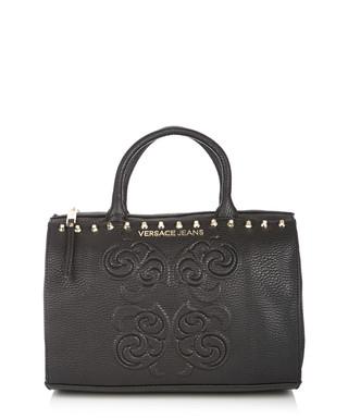 eb03700fd798c Black studded bowling bag Sale - Versace Jeans Sale