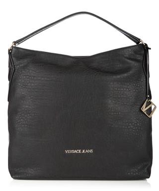75ba090814 Black slouchy shoulder bag Sale - Versace Jeans Sale