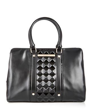 47975d1dbdbef Black studded square tote Sale - Versace Jeans Sale
