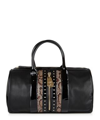 1f4b39562b8d Black snake-effect grab bag Sale - Versace Jeans Sale