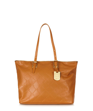 b71961c3115e Caramel embossed leather shoulder bag Sale - Longchamp Sale