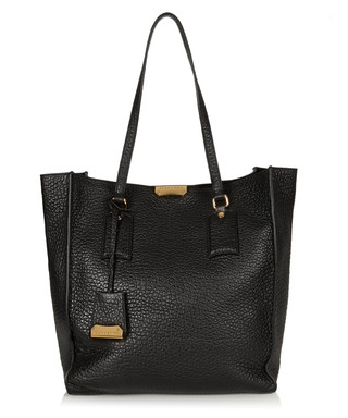 Black leather oversized shoulder bag Sale - Burberry Sale 99737e6582dba