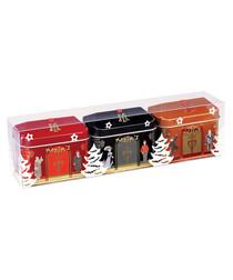 Image of 3pc tinned chocolate set
