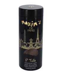 Image of Dark chocolate tuiles tube
