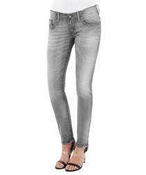 Skinzee faded grey cotton stretch jeans