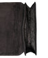 Black embroidered suede clutch Sale - SILVIO TOSSI Sale