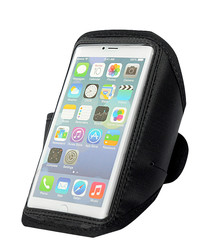 Image of Black iPhone 6 armband holder