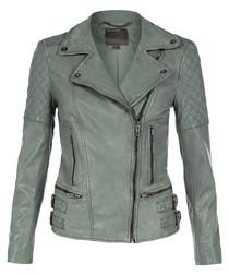 Rokel sycamore leather biker jacket