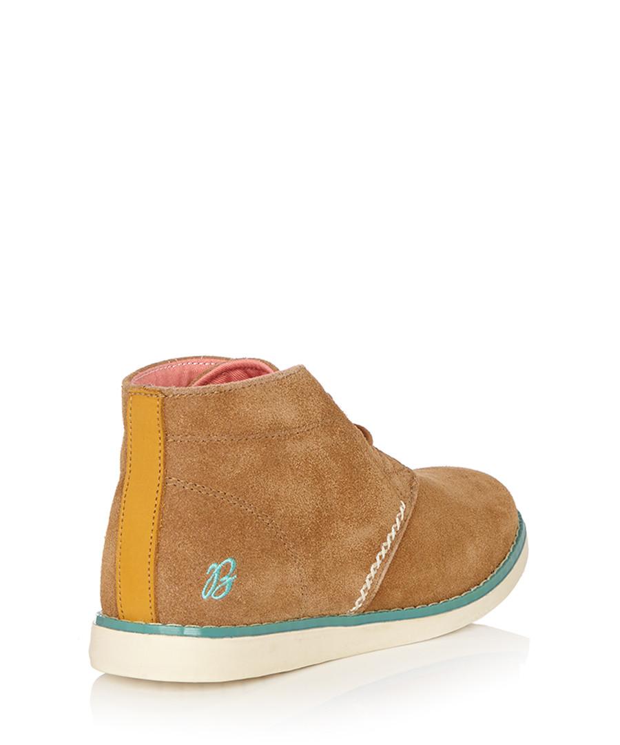 964169a2ead09 ... Women's Makka tan suede desert boot Sale - BRAKEBURN ...